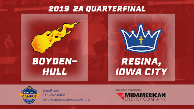 2019 Basketball 2A Quarterfinal - Boy...