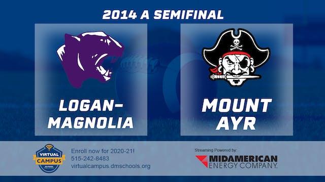 2014 Football Class A Semifinal Logan...