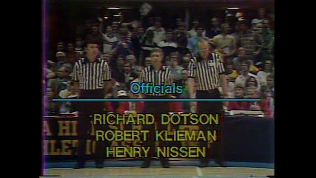 1985 Boys Basketball Class 3A Champio...