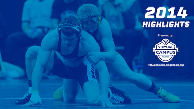 2014 Wrestling 1A-3A Semifinal Highlights