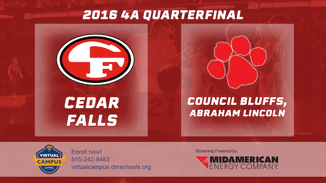 2016 Basketball 4A Quarterfinal Cedar...