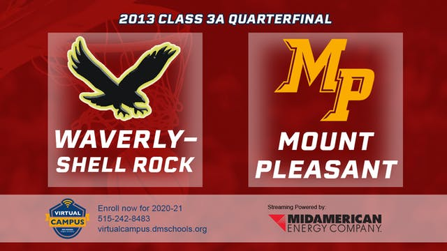 2013 Basketball 3A Quarterfinal - Wav...