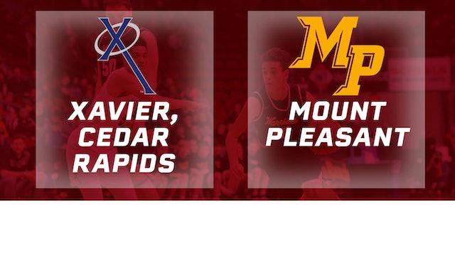 2017 Basketball 3A Quarterfinal (Xavier, Cedar Rapids vs. Mount Pleasant )