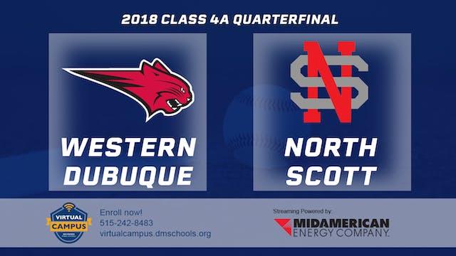 2018 Baseball 4A Quarterfinal - Epwor...