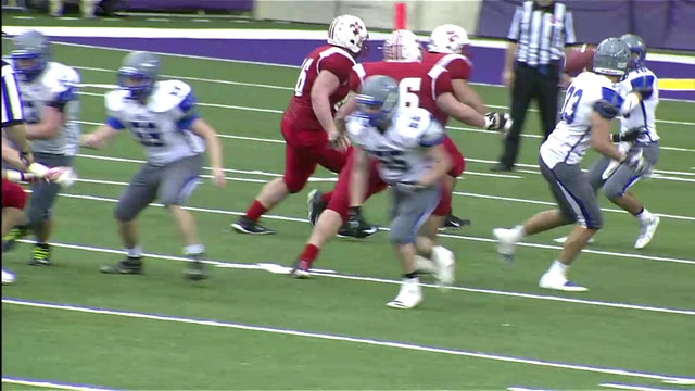 2016 Football Class A Semifinal Highlights - Gladbrook-Reinbeck vs. Saint Ansgar