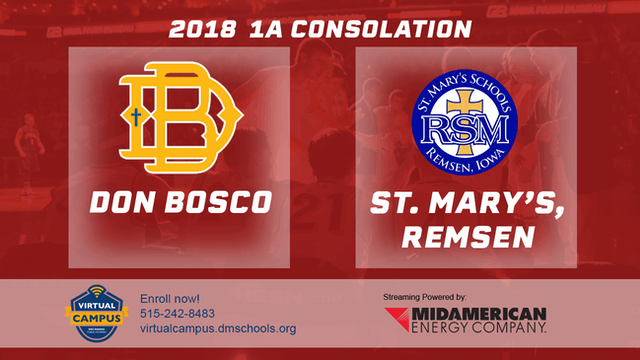 2018 Basketball 1A Consolation (Don B...