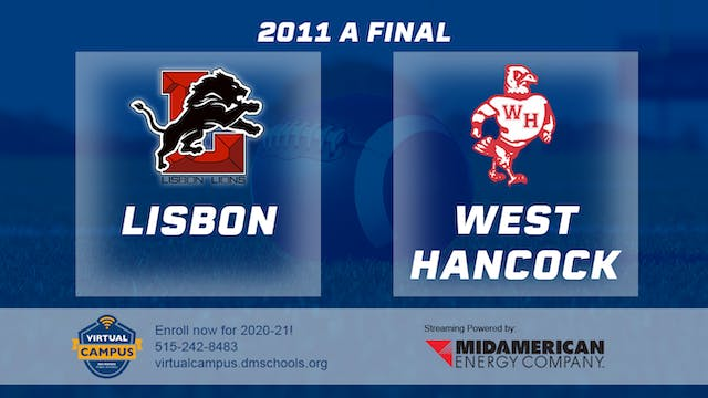 2011 Football Class A Final - Lisbon ...