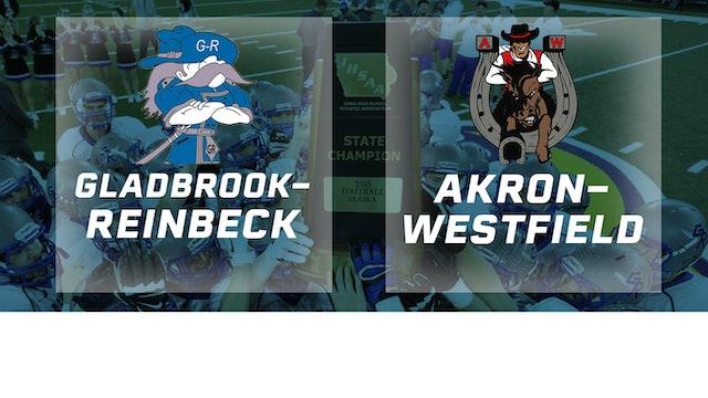 2015 Football Class A Championship - Gladbrook-Reinbeck vs. Akron-Westfield