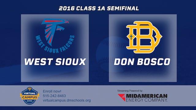 2016 1A Baseball Semi Finals: West Si...