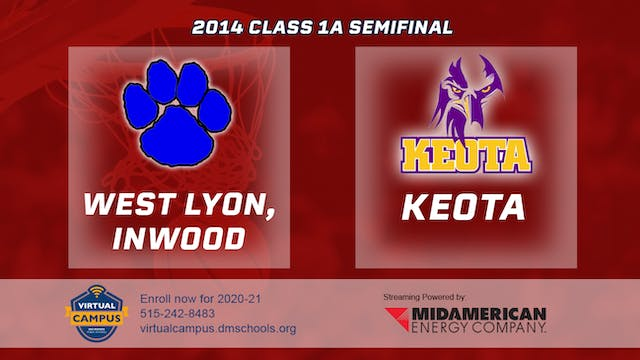 2014 Basketball 1A Semifinal - West L...