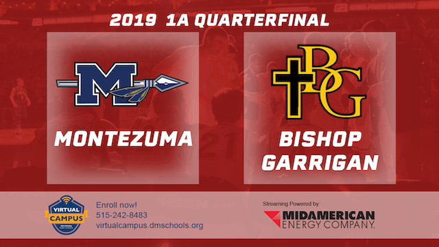2019 Basketball 1A Quarterfinal - Mon...