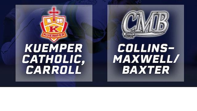 2016 Baseball 2A Quarterfinal - Kuemper Catholic vs. Collins-Maxwell/Baxter