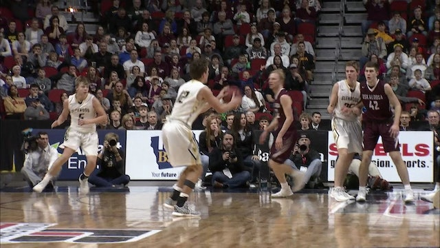 2018 Basketball 3A Final Highlights - Glenwood vs. Oskaloosa