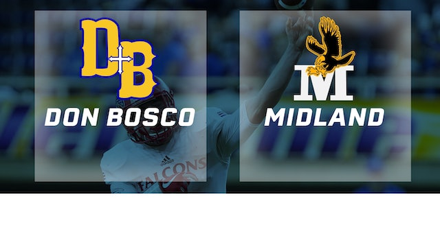 2017 Football 8-Player Semifinal - Don Bosco, Gilbertville vs. Midland