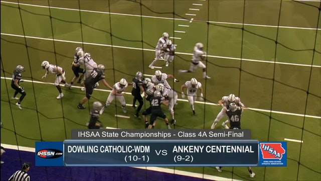 2017 Football 4A Semifinal Highlights - Dowling Catholic vs. Ankeny Centennial