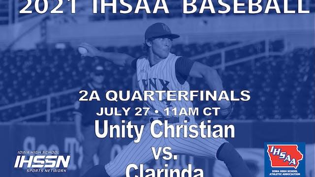 2021 2A Baseball Quarter Finals: Clar...
