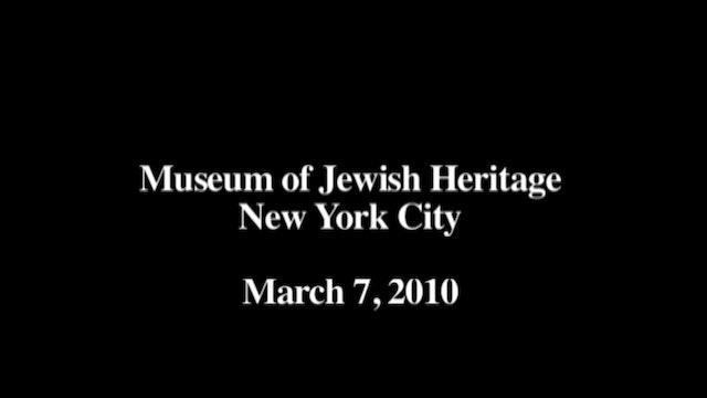 Museum of Jewish Heritage Panel | Killing Kasztner (Bonus)