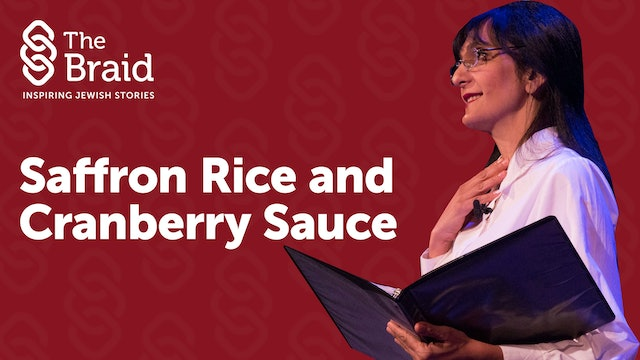 Saffron Rice and Cranberry Sauce | The Braid