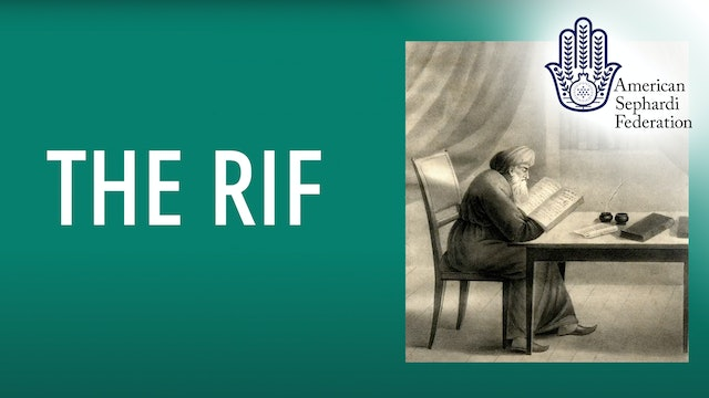 Rabbi Yitzhak Alfasi - The RIF | ASF IJE