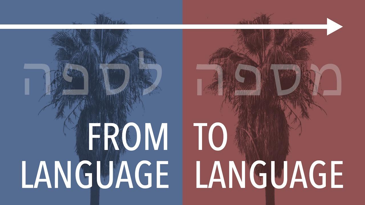 From Language to Language
