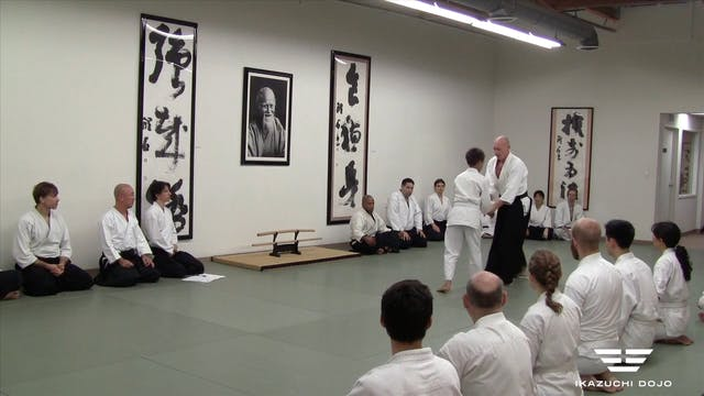 3rd Kyu Test: Trevor