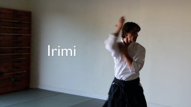 Irimi: Linear Movement