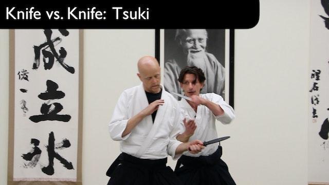Knife vs. Knife Tsuki