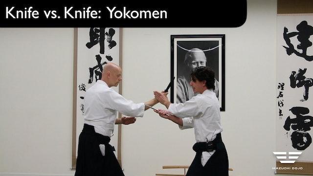 Knife vs. Knife Yokomen