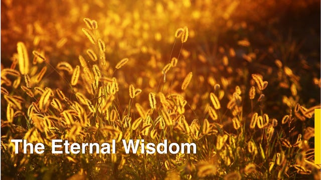 The Eternal Wisdom