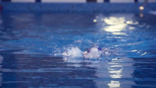 15. Плавание на спине. Гребки со сменой рук