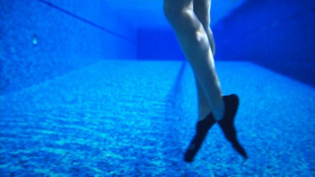 17. Работа ног с ластами