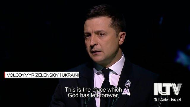Ukraine unveils 'Crystal Wall of Cryi...