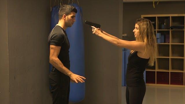 3. Krav Maga - Defense against a gun ...