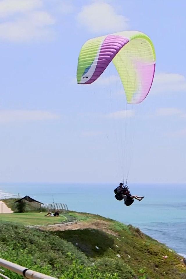 2. Cruising Israel - Paragliding, Alma Hotel, Aliyah story, Tel Gador, Jaffa