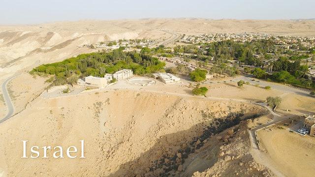KIBBUTZ in the NEGEV DESERT and Ben Gurion's Tomb
