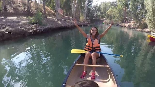 13. Cruising Israel - Ashdot Yaacov Kibbutz, Kayaking, 4x4