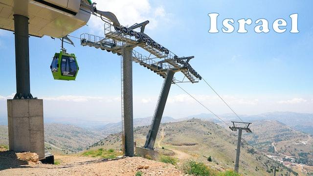 Ski Resort in SUMMER! Golan Heights, Mt HERMON, Israel