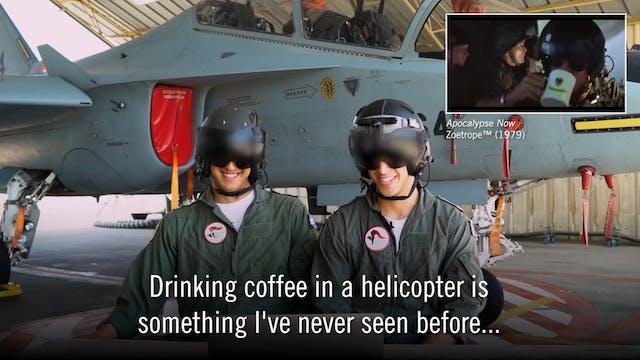 3. IDF Pilots Review Flight Scenes fr...