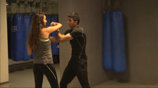 6. Krav Maga - Defense against a push or choke