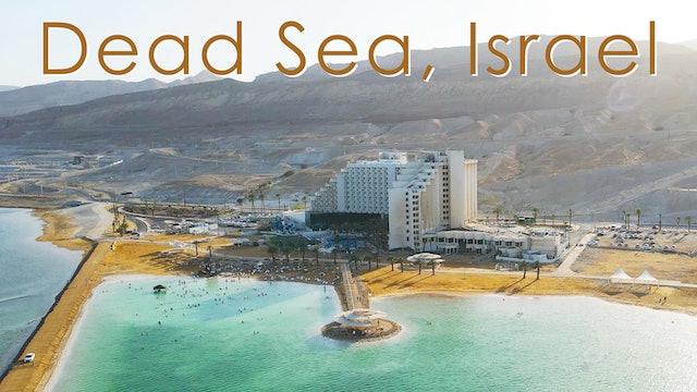 DEAD SEA, ISRAEL, Evening Walk