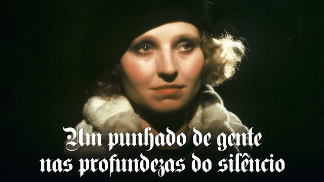 Um punhado de gente nas profundezas do silêncio