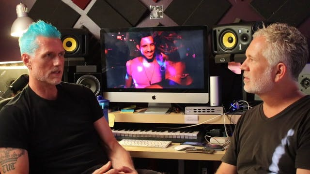 Behind The Soundtrack with Corey TuT in his studio and outtakes from the film.