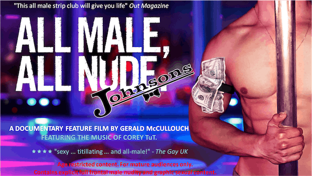 All Male, All Nude: JOHNSONS & All Male, All Nude.