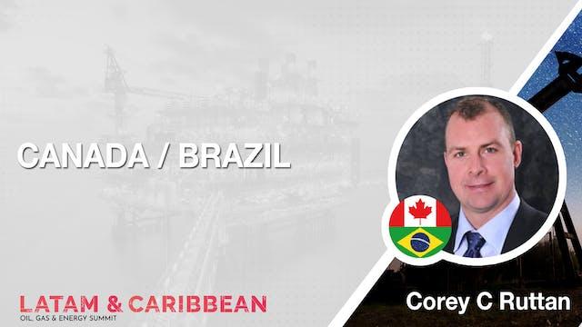 Canada / Brazil: Corey C Ruttan
