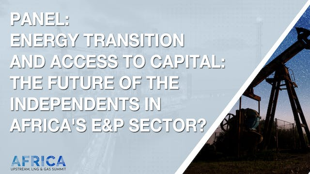 Panel: Energy Transition and Access to Capital