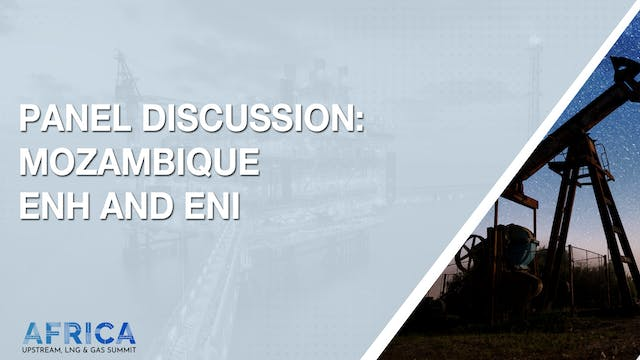 Panel Discussion: Mozambique ENH and ENI