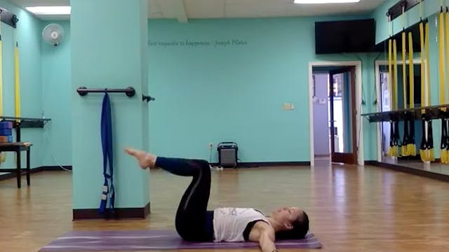 Mat Pilates #4 with Hope