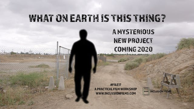 A Mysterious New Project Coming in 20...