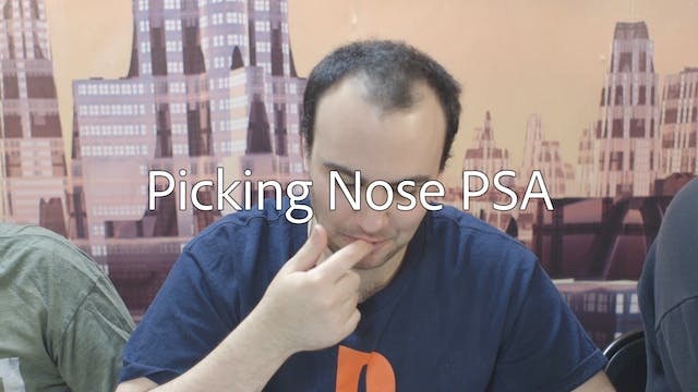 Picking Nose PSA