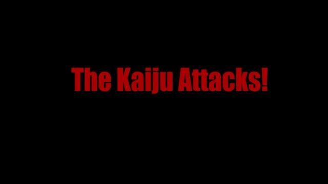 The Kaiju Attacks